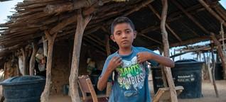 Los niños wayuu de Colombia, víctimas de la corrupción y la sequía   DW   20.09.2018
