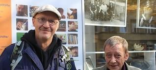 André Hoek und Klaus Seilwinder waren obdachlos – nun helfen sie anderen
