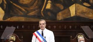 Dominikanische Republik vereidigt neuen Präsidenten Luis Abinader