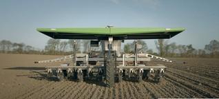 Landwirtschaft: Roboter übernehmen die Arbeiten auf dem Feld