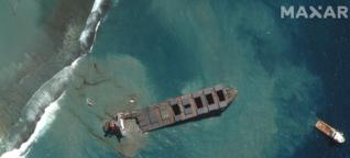 Vor Mauritius zerbricht ein Öltanker. Und die Menschen schneiden sich die Haare ab