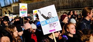 Gerichtsverfahren gegen Antifaschisten: Linker wegen Hitlergruß verurteilt