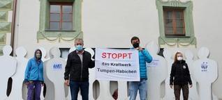 Schon 21.000 Unterschriften gegen Kraftwerksbau an der Ötztaler Ache