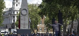 Rechtsextreme Demos in London: Kampf um die Statuen