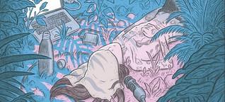 """In der Graphic Novel """"Unfollow"""" können Menschen die Natur nicht retten"""