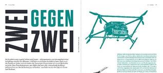 Zwei gegen zwei - Pflanzenschutz mit Hund und Drohne