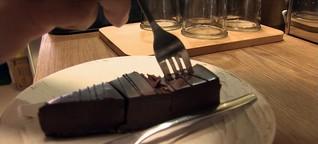 Sally backt deutsche Kuchen in Taiwan
