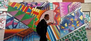 Graffiti in Stuttgart im Hauptbahnhof