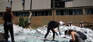"""Beirut : """"Die Menschen helfen sich selbst"""""""