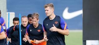 Gratulationen vom BVB: Haaland beglückwünscht Sörloth zum Transfer zu RB Leipzig