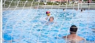 Serie Wasserspiele: Wasserball ist nichts für Zartbesaitete