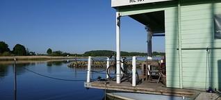 Auf dem Hausboot zu den Wikingern