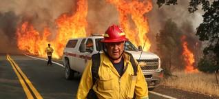 Kalifornien: Waldbrände bedrohen US-Bundesstaat - DER SPIEGEL - Politik
