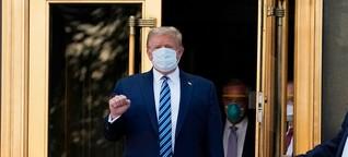 Donald Trump und seine Corona-Erkrankung: Der goldene Patient - DER SPIEGEL - Politik