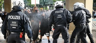 """Polizeigewalt: """"Auch eine Niederlage für die Polizei"""""""