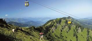 Hüttenwanderungen: Drei Traumtouren in den deutschen Alpen