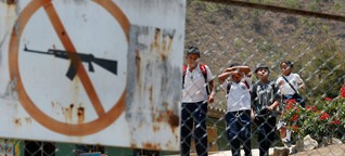 Wie Gangs in Kolumbien während der Pandemie Kinder zwangsrekrutieren - DER SPIEGEL - Politik