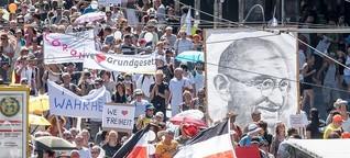 Berliner Corona-Demos: Die Unfähigkeit zur Kritik