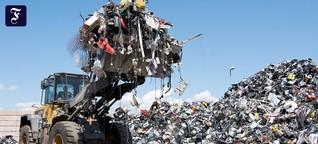Elektroschrott: Nur die Spitze des Müllberges