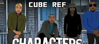 "CUBE REF spits venom and calls out the fakers with their high-vibe Hip Hop drop ""Characters"""
