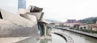 Raue Wellen und hohe Kunst im Baskenland