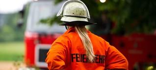 Warum es bei der Feuerwehr so wenige Frauen gibt