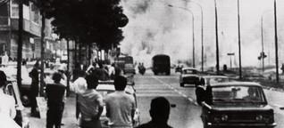 Bomben, Streiks und blaue Bohnen