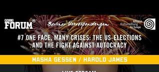 Berliner Korrespondenzen #7 digital: One face, many crises