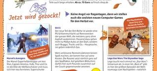 """Gamestipps für die """"JungeSparkasse"""" #4/2020"""