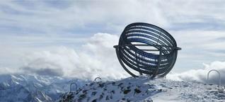 Reisen und Kunst: Mahnmal für das Eis der Alpen
