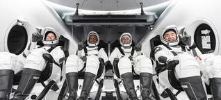 Per Linienflug zur ISS