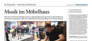 Musik im Möbelhaus