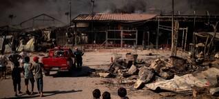 """Brände in Moria: """"Es gibt nur eine Lösung: evakuieren. Das muss jetzt passieren"""""""