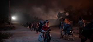 """Geflüchtete auf Lesbos: """"Die Menschen wissen nicht wohin"""""""