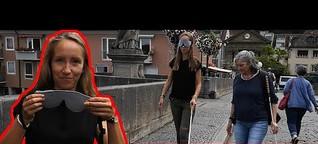 Ein Tag am Blindenstock - kann ich mich ohne meine Augen orientieren?