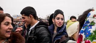 Auf einem Brautmarkt der Roma in Bulgarien