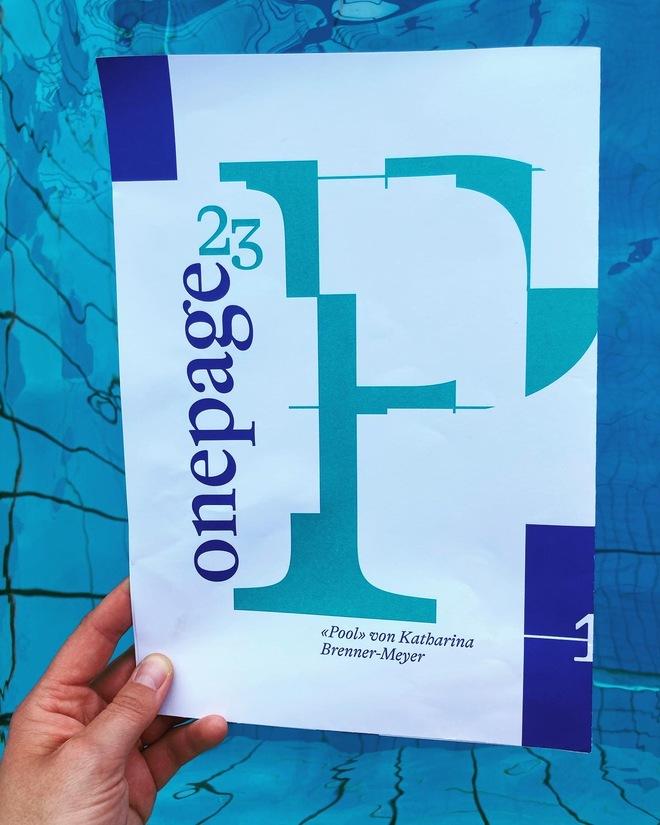 Onepage N°23: «Pool»
