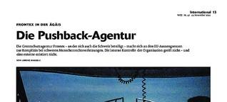 Frontex in der Ägäis: Die Pushback-Agentur