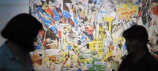Gerissene Kunst: Die Decollage