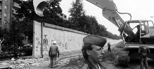 Mauer nicht von Dauer