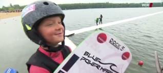 WDR Lokalzeit: Junger Wakeboarder startet durch