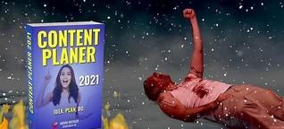 DEIN CONTENT MARKETING STRATEGIE PLANER 2021 [JETZT BESTELLEN!]