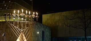 Acht Tage, acht Kerzen - Beginn des Lichterfestes Chanukka