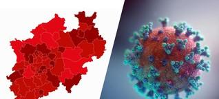 Warum entwickeln sich die Corona-Infektionszahlen in NRW so unterschiedlich?
