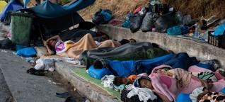 Lesbos: Flüchtlinge und wütende Bürger einig - niemand will ein zweites Moria