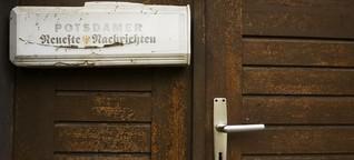"""Zeitung """"Potsdamer Neueste Nachrichten"""": Schrumpfen, um zu erhalten"""