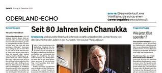 Jüdisches Leben und Erinnerungskultur in Bad Freienwalde