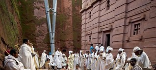 Die äthiopischen Felsenkirchen von Lalibela - Wallfahrt zu einem Weltwunder