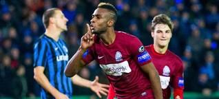 """Ilombe Mboyo : """"Le championnat belge est très sous-estimé"""" (SoFoot.com)"""