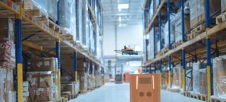Mit Drohnen arbeiten: Inventur aus der Luft